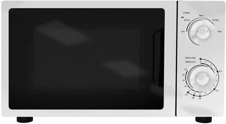 SIA MTM20WH 20L Freestanding White Microwave Oven