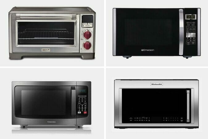 Different Types of Microwave Ovens in the Market