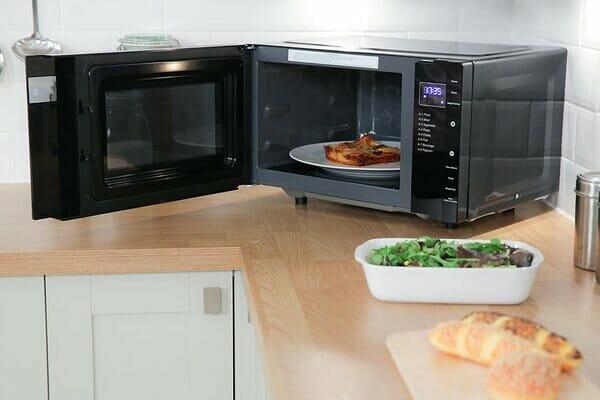 Russell Hobbs RHFM2363B Digital Flatbed Black Solo Microwave