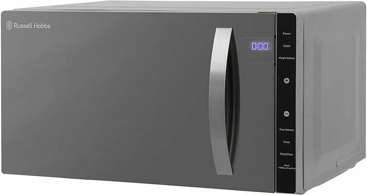Russell Hobbs RHFM2363S 23 L 800 W Silver Digital Flatbed Solo Microwave