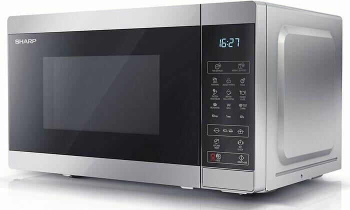 Sharp YC-MG02U-S 800W Digital Touch Control Microwave Review