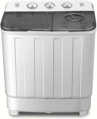 Fitnessclub Store Portable Twin Tub Washing Machine 7.6 KG