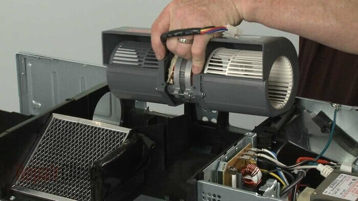 microwave fan